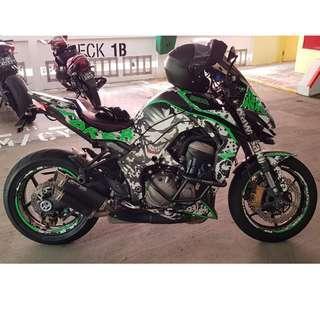 2014 Kawasaki Z1000 (Joker)
