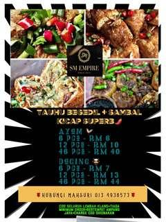 Tauhu begedil ayam & daging