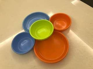 Ikea plastic ware for kiddos