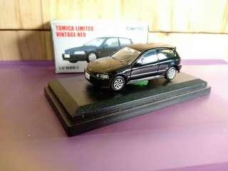 Tomica limited vintage Honda Civic estilo/sir