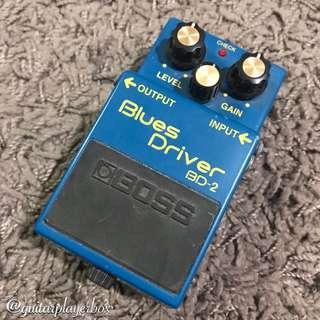 Boss Blues Driver BD-2 Electric Guitar Pedal