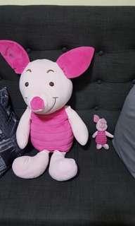 Buy 1 take 1 Big piglet stuffed toy and mini piglet