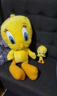 Buy 1take1 Big Tweety bird and mini tweety bird stuffed toy