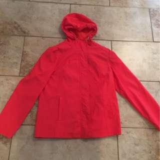 Very lightly used Grapefruit Colour Rain Jacket- Size S
