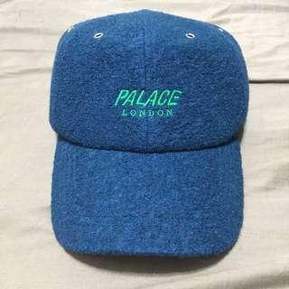 🚚 PALACE 6 PANEL 深藍 羊毛 刺繡LOGO 老帽 棒球帽 LONDON