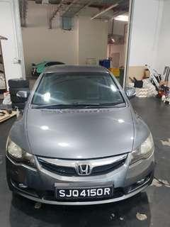 Honda Civic 1.8a VTI for rent