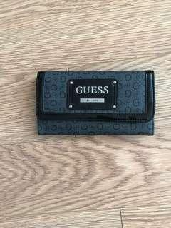 Guess wallet-dark grey and black-EUC