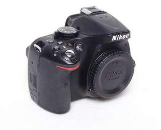🚚 🔥📷beautiful!! Nikon d5200 body only