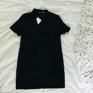 Brand New Zara Black Choker Dress