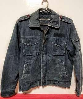 🚚 [M號]男牛仔外套,購於藍世界、僅下水;買給兒子但他從未穿過,100%棉