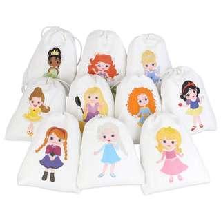 🚚 Princess Party Favour Bags
