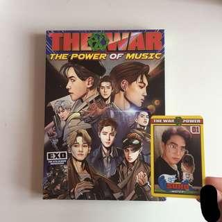 (WTS) EXO power album suho photocard