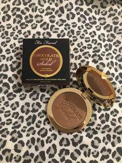 "Too Faced ""Chocolate Gold"" Bronzer"