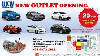 New Outlet Opening Call Us Now