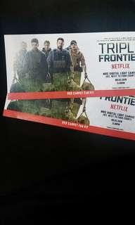Ticket to Triple Frontier (Ben Affleck)