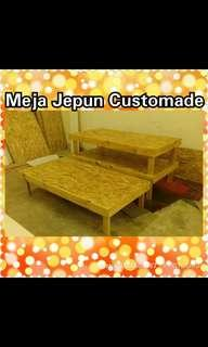 Meja jepun/japan table custom made