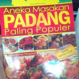 Buku masakan padang