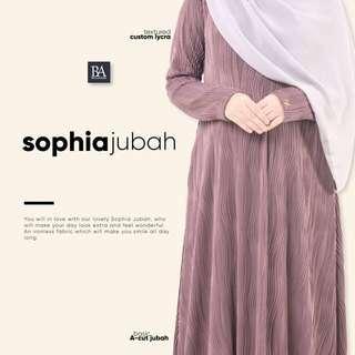 Sophia Jubah by Bella Ammara
