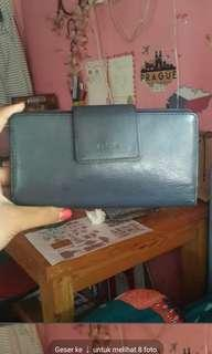 Fossil dompet navy