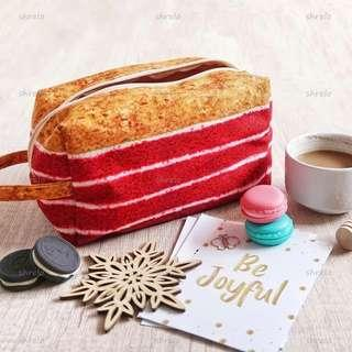 Pouch Make Up Red Velvet Cake kekinian