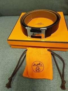 Authentic Hermes H Belt Unisex