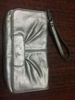 Coach Silver Clutch 銀色手提包
