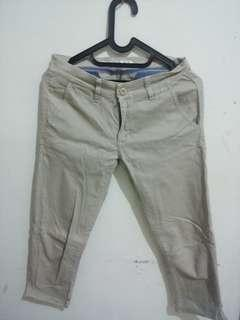 HARDWARE COTTON PANTS 3/4 #prelovedwithlove