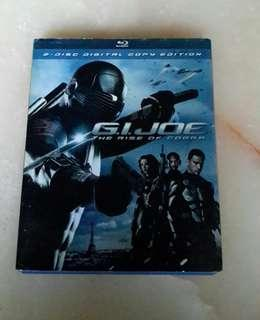 Bluray G.I.Joe The Rise Of Cobra.