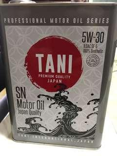 TANI 5W30 Japan Sythetic Engine Oil 4L