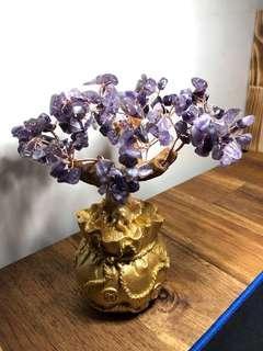 🚚 《3顆一起賣》紫水晶 發財樹