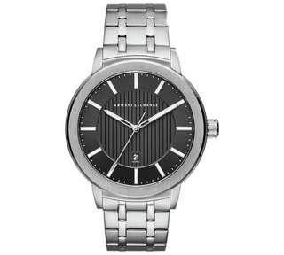 Bnew Authentic Armani Exchange Men's Maddox Stainless Steel Bracelet Watch