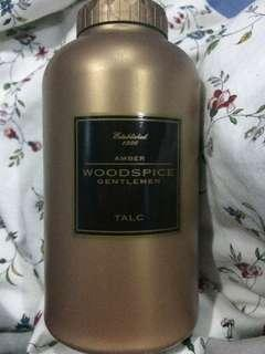 Marks and Spencer Amber Woodspice Talcum Powder