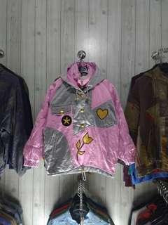 Vintage color block jacket
