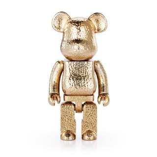 ROYAL SELANGOR 400% BE@RBRICK GOLD COLOR VERSION bearbrick
