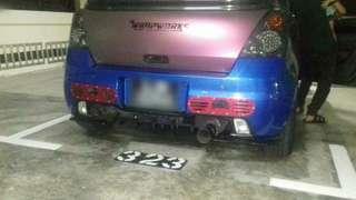 Bumper cutting,diffuser holes