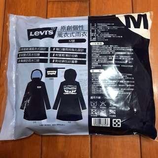 🚚 7-11 levi's 雨衣M