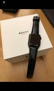 Apple Watch i watch 42mm Series 3 不鏽鋼
