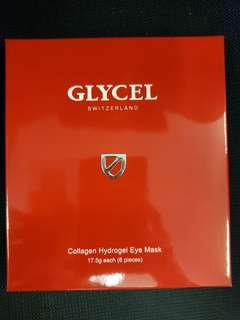 全新glycel collagen hydrogel eye mask (6 pairs) expiry: 3/2021