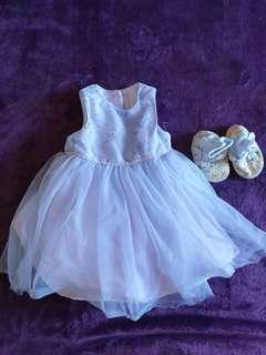 Summer Baby Clothes Set 2 - Dress Shoes
