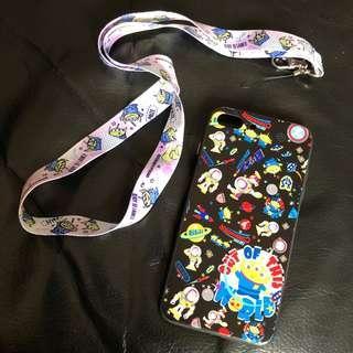 iPhone 7/8 plus 電話殼連繩