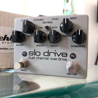 Weehbo SLO Drive Dual Channel Soldano Amp High Gain Distortion Drive Guitar Effect Pedal