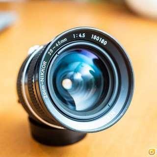 Nikon 28-45mm F4.5 ai
