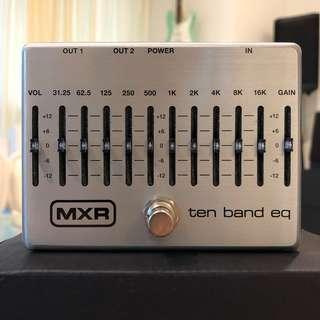 MXR Ten Band EQ Equalizer Guitar Effect Pedal