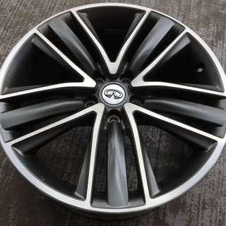 """Pre-Owned Original 19"""" Infinity Sports Rim fits infinity nissan"""