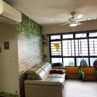 635B Senja Road New Corner 4 Room, Super High Floor, Renovated, Move In Condition