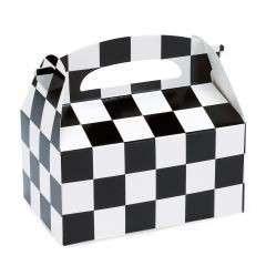 New Check black and white treat box