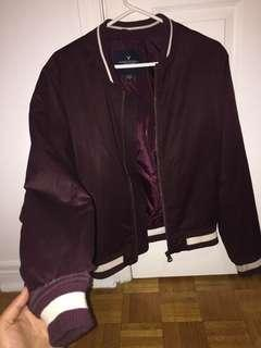 American Eagle thick bomber jacket