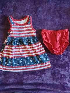 Summer Baby Clothes Terno 10 Dress