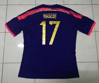 Japan AFC Cup 2016 Hasebe#17 home Jersey
