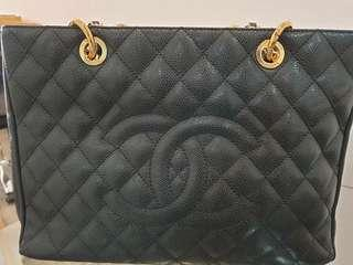 Chanel Black Caviar Large Tote Bag